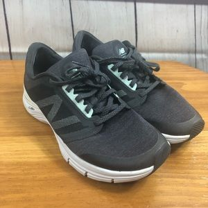 New Balance Cush Gray and Turquoise Running Shoes